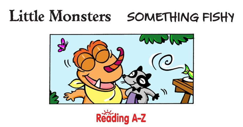 Book Preview For Little Monsters: Something Fishy Page 2
