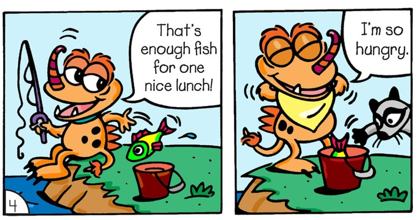 Book Preview For Little Monsters: Something Fishy Page 6