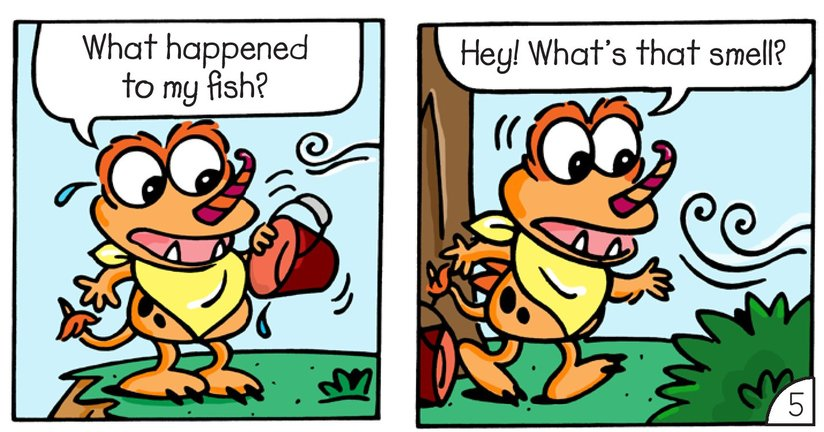 Book Preview For Little Monsters: Something Fishy Page 7