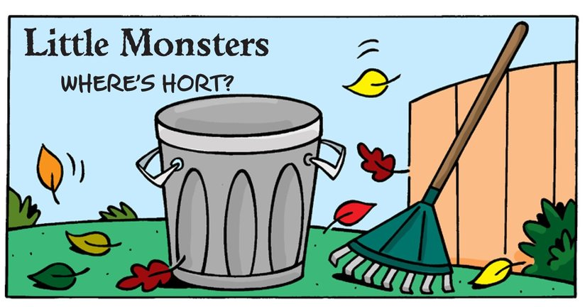 Book Preview For Little Monsters: Where's Hort? Page 1