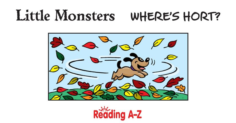 Book Preview For Little Monsters: Where's Hort? Page 2