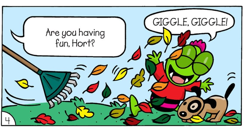 Book Preview For Little Monsters: Where's Hort? Page 6