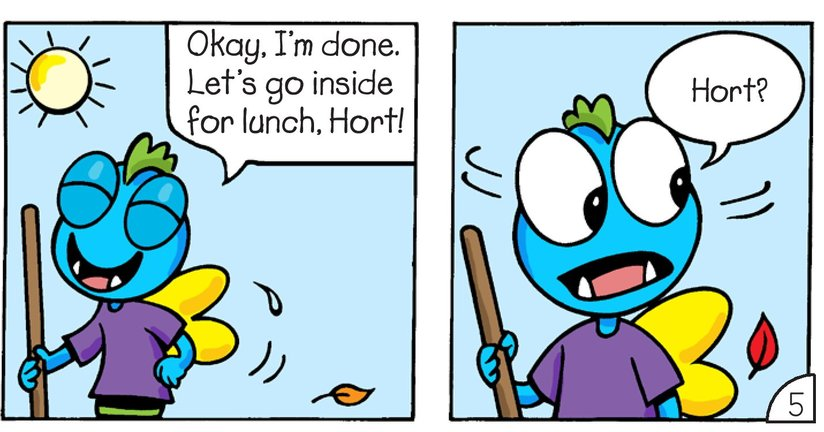 Book Preview For Little Monsters: Where's Hort? Page 7