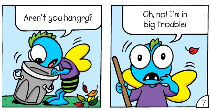 Book Preview For Little Monsters: Where's Hort? Page 9