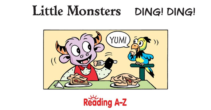 Book Preview For Little Monsters: Ding! Ding! Page 2