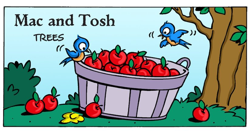 Book Preview For Mac and Tosh: Trees Page 1