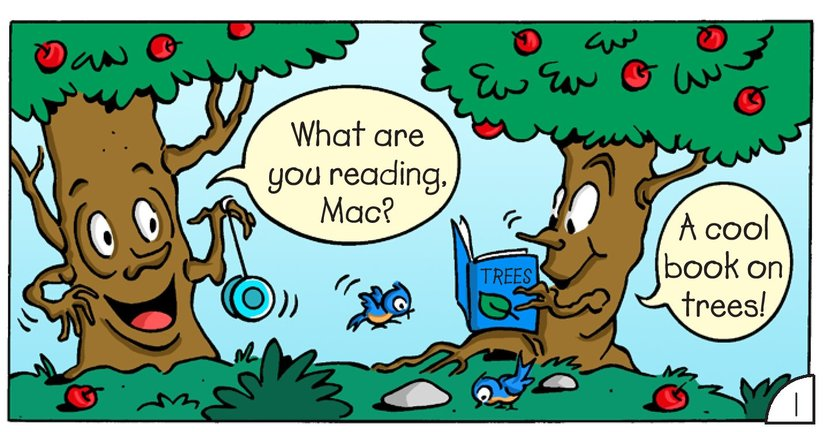 Book Preview For Mac and Tosh: Trees Page 3