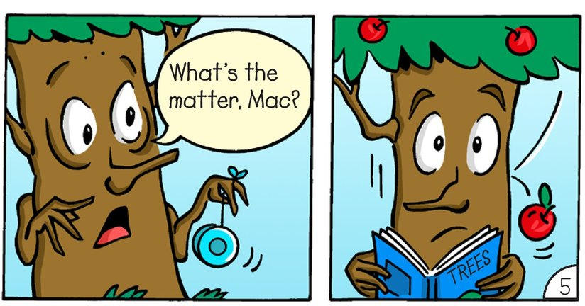 Book Preview For Mac and Tosh: Trees Page 7