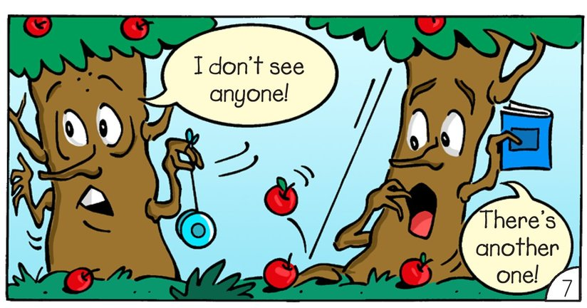 Book Preview For Mac and Tosh: Trees Page 9