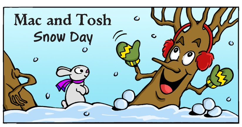 Book Preview For Mac and Tosh: Snow Day Page 1