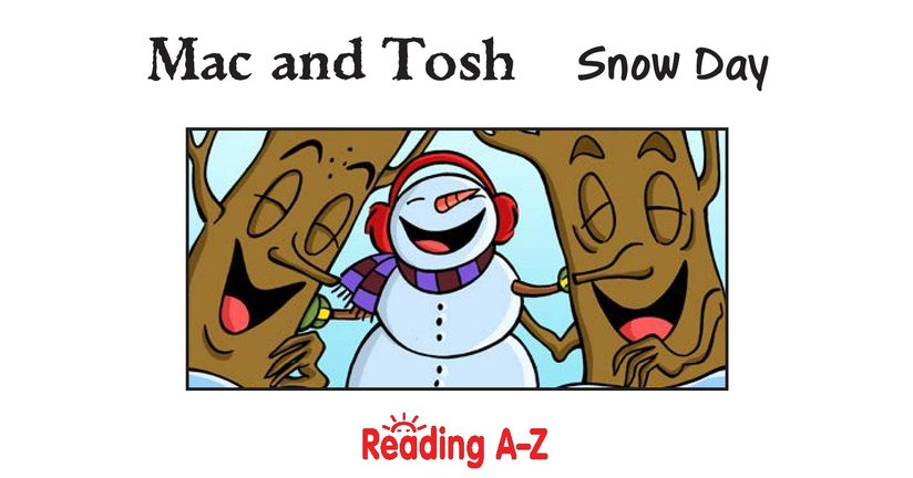Book Preview For Mac and Tosh: Snow Day Page 2