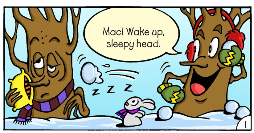 Book Preview For Mac and Tosh: Snow Day Page 3