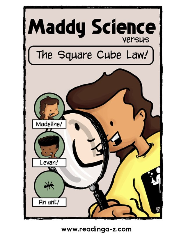 Book Preview For Maddy Science: The Square Cube Law Page 1