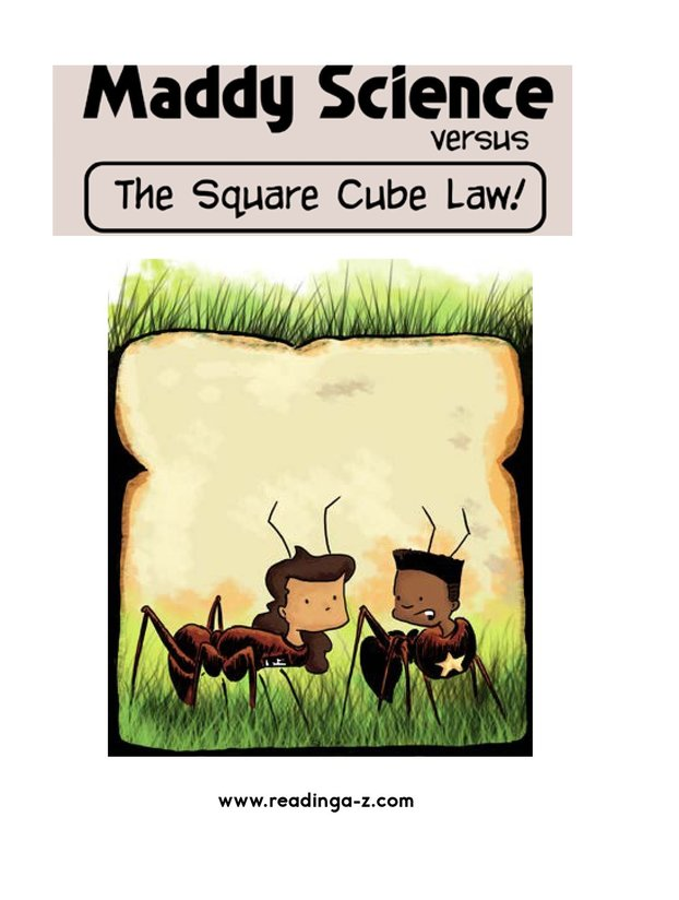 Book Preview For Maddy Science: The Square Cube Law Page 2