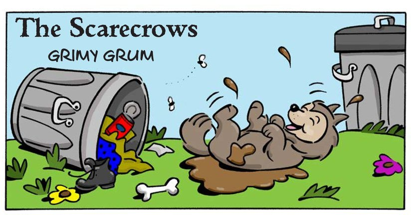 Book Preview For The Scarecrows: Grimy Grum Page 1