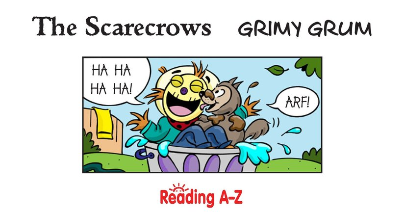 Book Preview For The Scarecrows: Grimy Grum Page 2