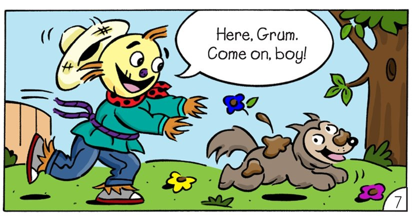 Book Preview For The Scarecrows: Grimy Grum Page 9