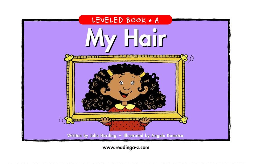 Book Preview For My Hair Page 1