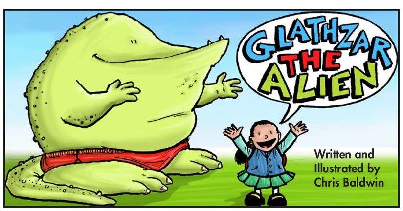 Book Preview For School Days: Glathzar the Alien Page 1