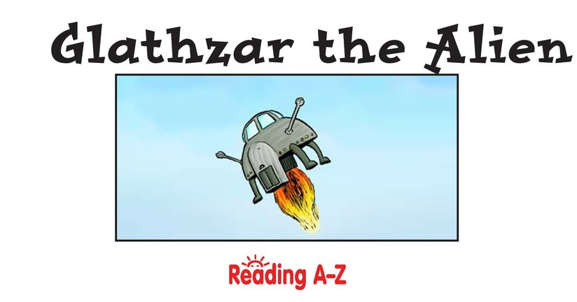 Book Preview For School Days: Glathzar the Alien Page 2