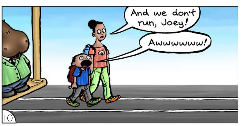 Book Preview For School Days: Mr Hippopotamus and the Street Crossing Adventure Page 12
