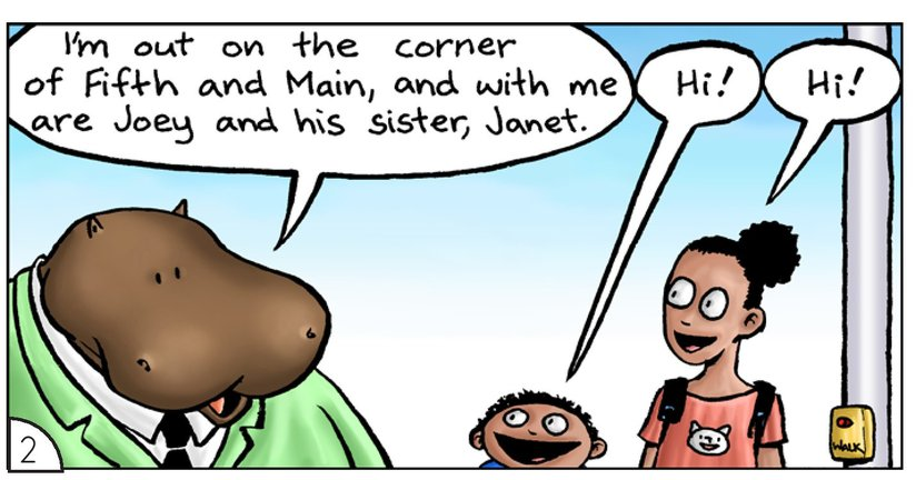 Book Preview For School Days: Mr Hippopotamus and the Street Crossing Adventure Page 4