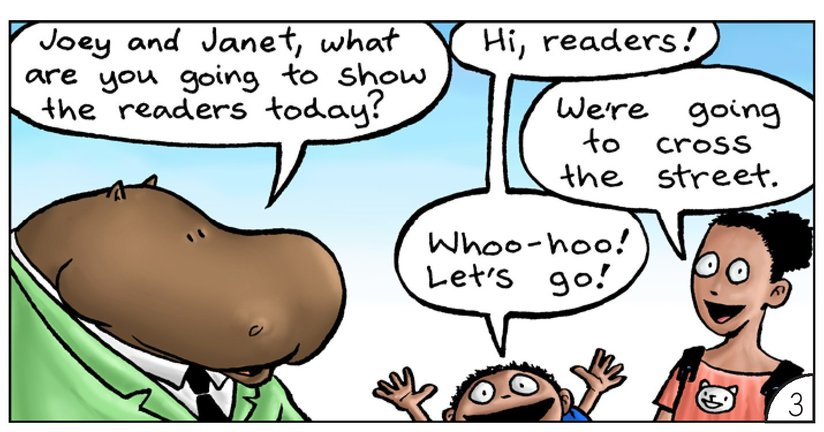 Book Preview For School Days: Mr Hippopotamus and the Street Crossing Adventure Page 5