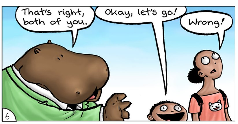 Book Preview For School Days: Mr Hippopotamus and the Street Crossing Adventure Page 8