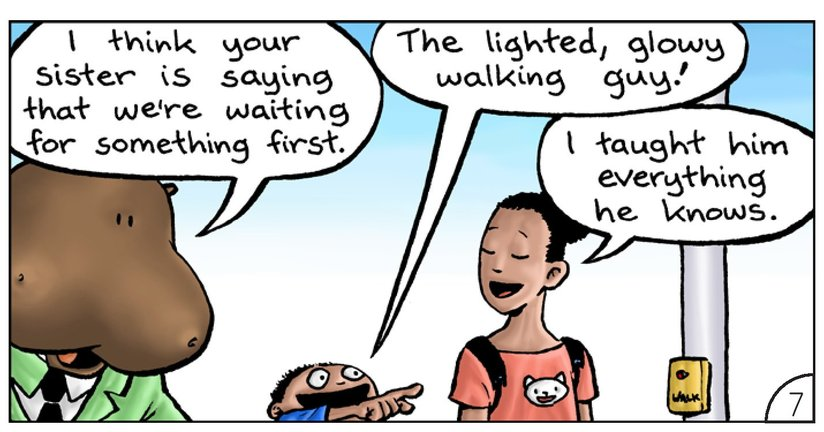 Book Preview For School Days: Mr Hippopotamus and the Street Crossing Adventure Page 9