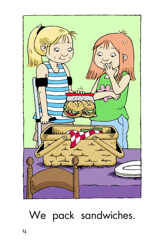 Book Preview For We Pack a Picnic Page 4
