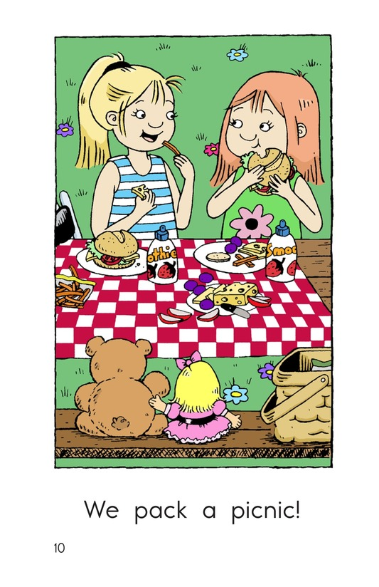 Book Preview For We Pack a Picnic Page 10