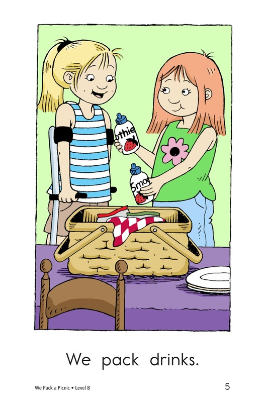 Book Preview For We Pack a Picnic Page 5