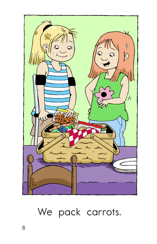 Book Preview For We Pack a Picnic Page 8