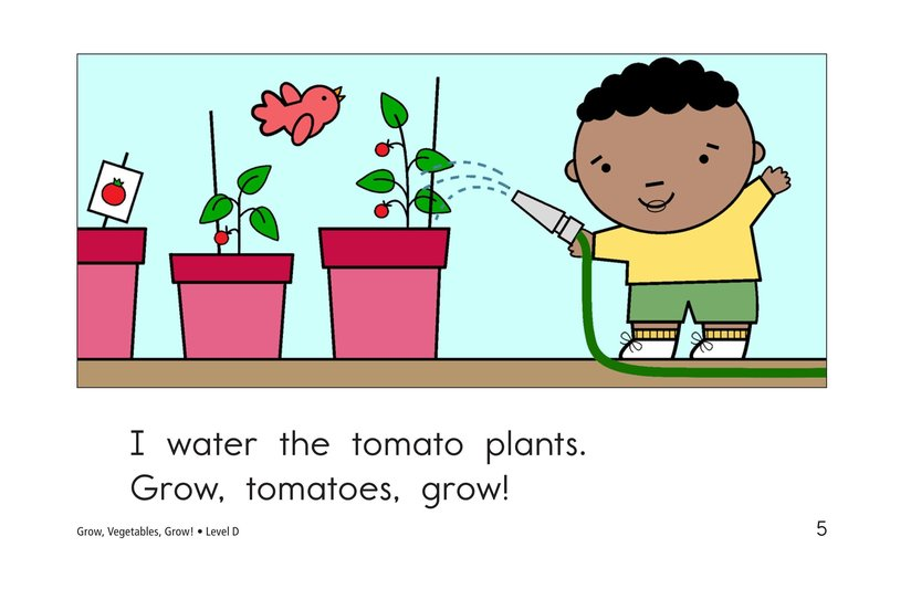 Book Preview For Grow, Vegetables, Grow! Page 5