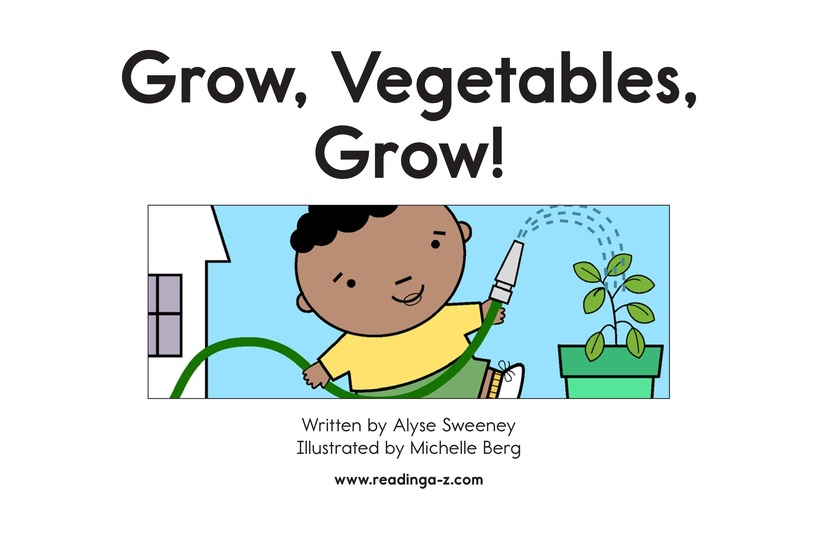 Book Preview For Grow, Vegetables, Grow! Page 2