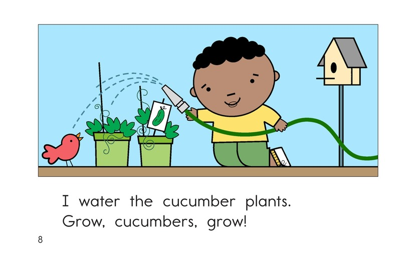 Book Preview For Grow, Vegetables, Grow! Page 8