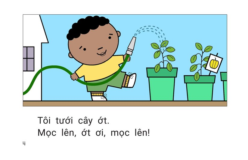 Book Preview For Grow, Vegetables, Grow! Page 4