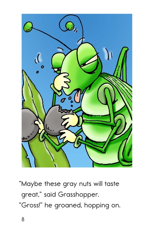 Book Preview For Grasshopper's Gross Lunch Page 8