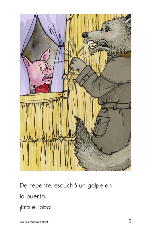 Book Preview For The Three Little Pigs Page 5