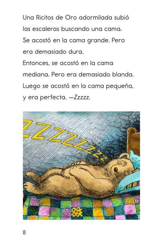 Book Preview For Goldilocks and the Other Three Bears Page 8