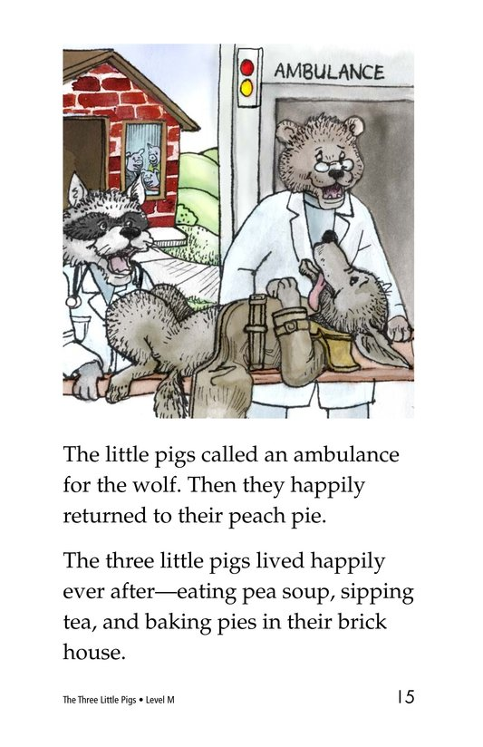 Book Preview For The Three Little Pigs Page 15