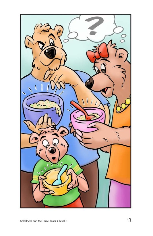 Book Preview For Goldilocks and the Three Bears Page 13