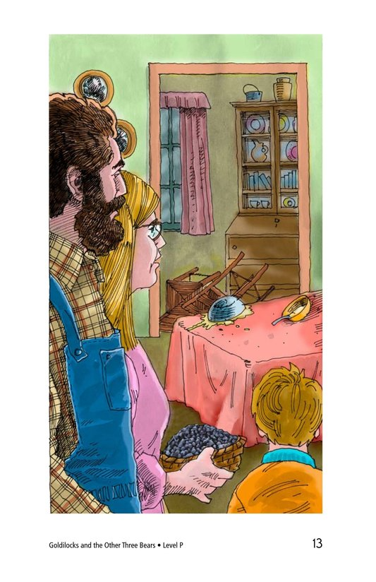 Book Preview For Goldilocks and the Other Three Bears Page 13