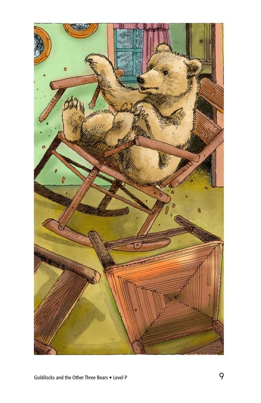 Book Preview For Goldilocks and the Other Three Bears Page 9