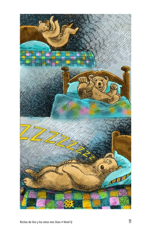 Book Preview For Goldilocks and the Other Three Bears Page 11