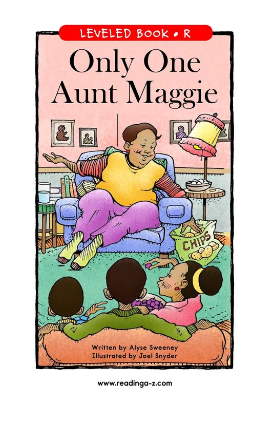 Book Preview For Only One Aunt Maggie Page 1