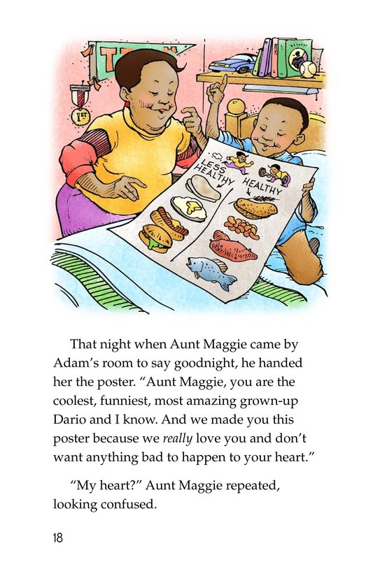 Book Preview For Only One Aunt Maggie Page 18