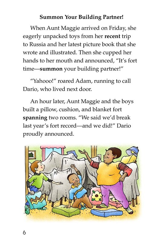 Book Preview For Only One Aunt Maggie Page 6