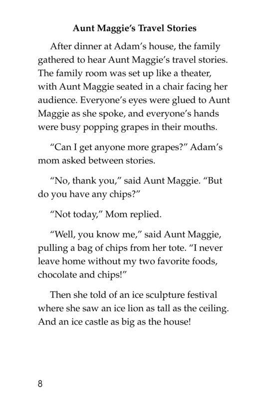 Book Preview For Only One Aunt Maggie Page 8