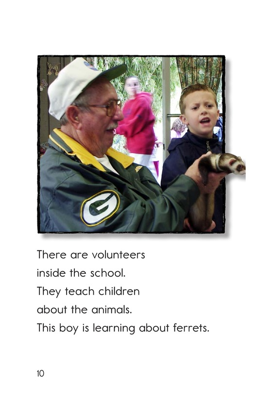 Book Preview For A Visit to the Zoo Page 10